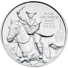 Paul Revere Silver Round (1/2 Oz) from Independent Living Bullion.
