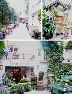 Secret Garden Cafe in Madrid, Spain The afternoon Justine and I spent in a cafe in Madrid <3