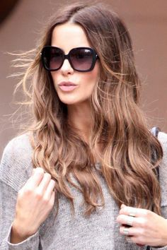 Style, hair and shades.
