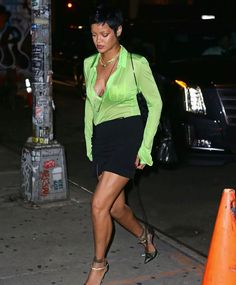 Fall Winter, Autumn, Full Look, Sequin Mini Skirts, Wild Style, Rihanna, Dress To Impress, Style Icons, Sequins