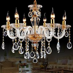 Cheap Chandeliers on Sale at Bargain Price, Buy Quality lamp shade ceiling light, lamp shellac, lamp booster from China lamp shade ceiling light Suppliers at Aliexpress.com:1,Body Material:Crystal 2,Warranty:1 year 3,Application:Living Room, Dining Room, Bedding Room, Other 4,Model Number:E-038 5,Switch Type:Touch On/Off Switch