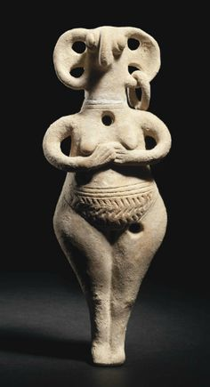 A Cypriot terracotta female figure / late Cypriot II-III, circa BCE… Ancient Aliens, Ancient History, Art History, Ancient Goddesses, Art Premier, Mother Goddess, Art Sculpture, Ancient Artifacts, Old Art