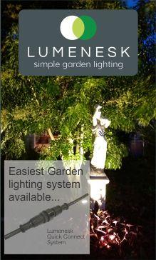 Lumenesk garden lighting made simple