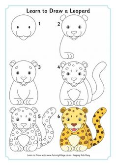 Learn To Draw A Leopard