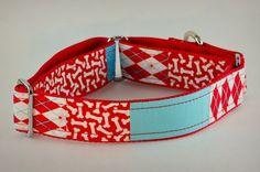Martingale Dog Collar Handmade Dog Collar Martingale by PuppyRiot