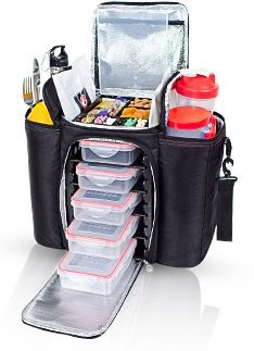 Top 7 Gift Ideas for Fitness Enthusiasts -- this is The Innovator 6 Pack Bag, a great tool to independently store and organize your meals, supplements, water, fruits and other tools 6 Pack Bag, Exercise For Six Pack, Materiel Camping, Shaker Bottle, Cool Things To Buy, Stuff To Buy, 6 Packs, Get Healthy, Healthy Foods
