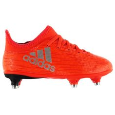 adidas | adidas X 16.3 Childrens SG Football Boots | Kids Soft Ground Football Boots