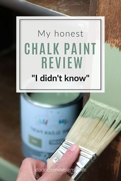 You don't know what you don't know. 🤦♀️ I'm sure I am the last furniture painter on earth that hasn't tried this brand of CHALK PAINT. But I did today and I'm sharing the lessons I learned during my project and giving you my honest review. #dododsondesigns #chalkpaint #chalkpaintedfurniture #chalkpainted Furniture Update, Furniture Repair, Furniture Makeover, Painted Furniture For Sale, Chalk Paint Furniture, Mirror Painting, Painting Tips, Hand Painted Dressers, Stain Techniques