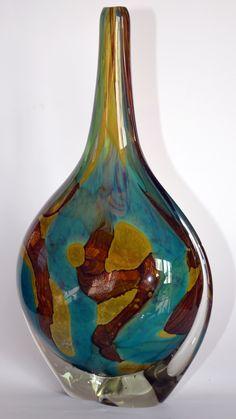 Midna Glass lollipop vase