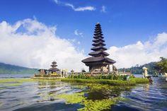 tempel ulun danu op bali indonesië