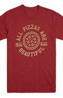 Thomas Sanders Merch Pizza (Heather Cardinal)