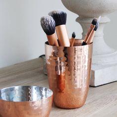 copper hammered storage pot by marquis & dawe   notonthehighstreet.com