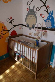 Forget the nursery! I want that on my bedroom wall!