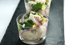 Simple Ceviche (ceviche could quite possibly be my favorite dish)