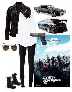 Designer Clothes, Shoes & Bags for Women Bad Girl Outfits, Dope Outfits, Swag Outfits, Fashion Outfits, Furious 6, Fast And Furious, Wrestling Outfits, Movie Inspired Outfits, Halloween Outfits