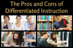 The Pros and Cons of Differentiated Instruction in CTE  Do you ever consider the pros and cons of differentiated instruction? If you teach middle orhigh school career and technical educationorelective courses, chances are you are incorporating some kind of differentiated instruction in your classroom. The reality is that, unlike core courses, CTEand electives have a greater variety of individual learners at different levels. We