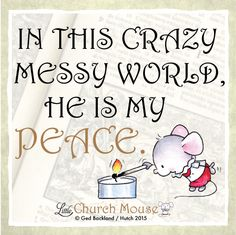 Amen! #LittleChurchMouse