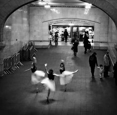 He came down with an illness.   22 Incredible Photos Of Ballerinas In Urban Cityscapes Of New York City