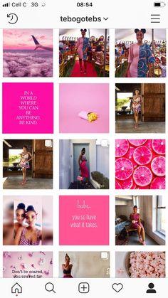 Pink Instagram theme