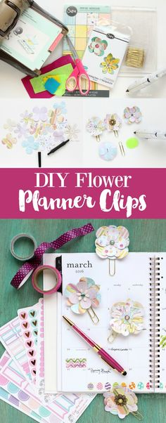 Paper clip, Planners and Cute stickers