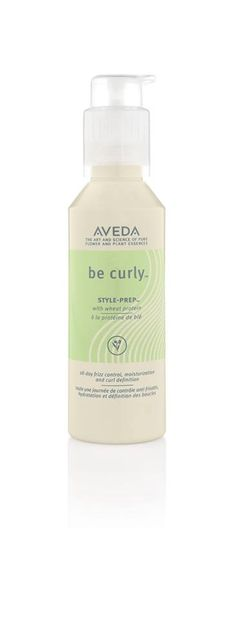 Got curls or waves? Wake them up with Be Curly Style-Prep, which detangles and defines while calming frizz. Thanks for the love, NaturallyCurly.com!