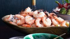 This shrimp cocktail recipe will kick off any party—just don't forget the cocktail sauce.