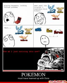 Pokemon: the three legendary birds debunked