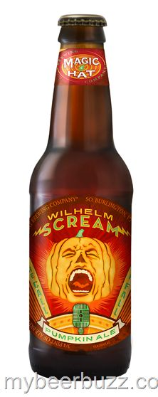 The Magic Hat Brewing Company recently released Wilhelm Scream, its first-ever pumpkin ale that's named for the iconic scream sound effect that's been used in over 200 movies. Beer Brewing, Home Brewing, Scream Sound, South Burlington, Pumpkin Beer, Magic Hat, All Beer, Brewing Company, Vintage Advertisements