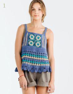 crochet swing top