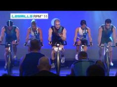 LES MILLS RPM™ is a 45 minute indoor cycling workout that burns serious calories! My kind of stuff!