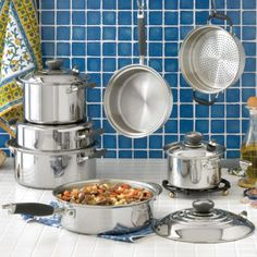 My new Pans!!! I am so excited about this cooking system!