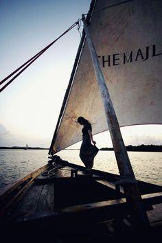 keep sailing towards the horizon