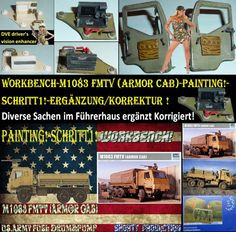 Shorty-Production: Workbench-M1083 FMTV (Armor Cab)-Painting!-Schritt...