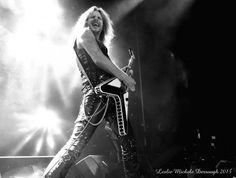 Richie Faulkner of Judas Priest at the Hard Rock in Biloxi. 2015
