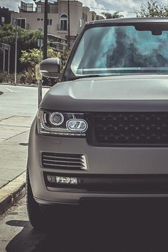 Supercharged Range Rover