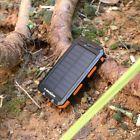 Portable 300000mAh Solar Power Bank Dual USB Battery Backup Charger for Phone US Solar Phone Chargers, Solar Power Energy, Solar Projects, Solar Panels, Flashlight, Usb, Portable Battery, Sun Panels, Solar Power Panels