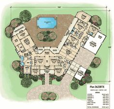 Packed With Amenities - 36238TX floor plan - Main Level
