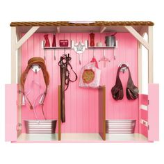 Hand Crafted Wooden Toy Barn 1 By Wild Cat Hollow