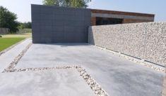 Oprit in beton   Beton- & Grondwerken Van Gaeveren NV
