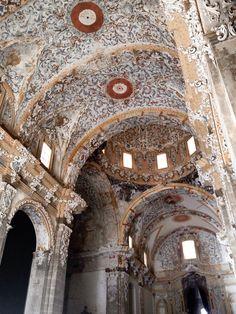 Interior del Monasterio Santa Maria de la Valldigna (Simat de la Valldigna - Spain)