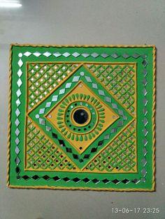 Clay Wall Art, Mural Wall Art, Hanging Wall Art, Dot Art Painting, Fabric Painting, Clay Art Projects, Bright Art, Indian Folk Art, Indian Art Paintings