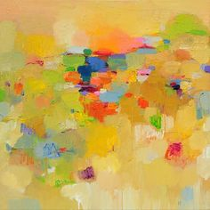 sunset landscape | Yangyang Pan | Available Works | Parts Gallery | Contemporary Art Gallery in Toronto