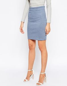 Image 4 of Minimum Pencil Midi Skirt