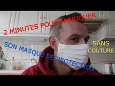 protective mask for the face: 2 minutes to make your mask (explanation: 10 minutes) – Face Mask Diy Mask, Diy Face Mask, Youtube Banner Backgrounds, Diy Projects On A Budget, Youtube Logo, Youtube Youtube, Protective Mask, Loreal Paris, Sewing Patterns Free