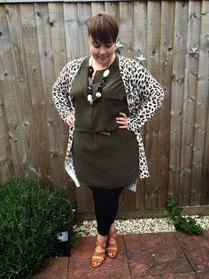 Plus Size Fashion - Mrs BeBe Blog: OOTD: Jane of the Jungle.