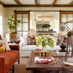 43 Cozy and warm color schemes for your living room! (Image Courtesy of Total Concepts)