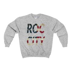 🔥🔥We just added this to our store! ROC CITY Crewneck... #clothes #fashion #tshirts #coffee #coffeelovers #tshirts http://roccityteesandapparel.myshopify.com/products/roc-city-crewneck-sweatshirt?utm_campaign=social_autopilot&utm_source=pin&utm_medium=pin