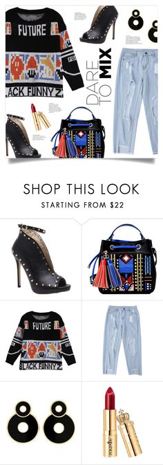 """Be Bold: Dare To Mix"" by mahafromkailash ❤ liked on Polyvore"