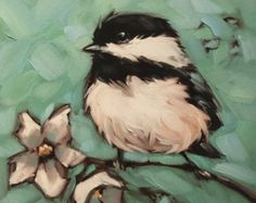 Nuthatch PRINT  - This is an fine art print of original oil painting by Andrea Lavery. (The original has been sold) - Image size: 6x6 on an 8x8 Archival Matt Paper  - This is an open edition print.  - All prints are signed and dated on the front just below the image.  - Prints are shipped flat in a protective cello sleeve in a rigid mailer. - Please note that colors vary slightly due to differences in monitors. If you have any questions please feel free to contact me.  Copyrights of all…