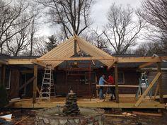 Ellis porch project ! Grassy Creek NC